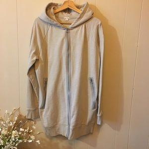 GAP tunic length hoodie